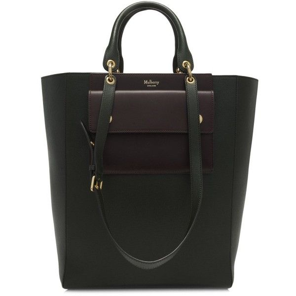 f48884c8af72 Pre-owned Mulberry Maple Tote Bag (£640) ❤ liked on Polyvore featuring