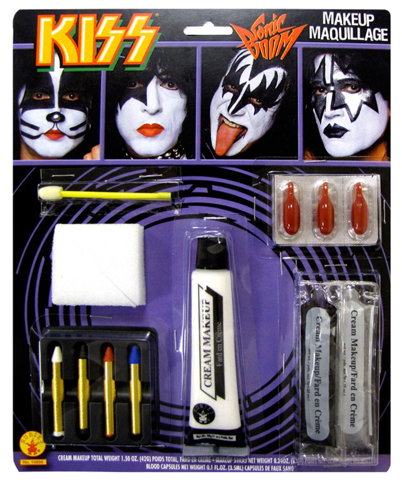 Kiss Band Makeup: With This One Amazing KISS Makeup Kit You Can Create The