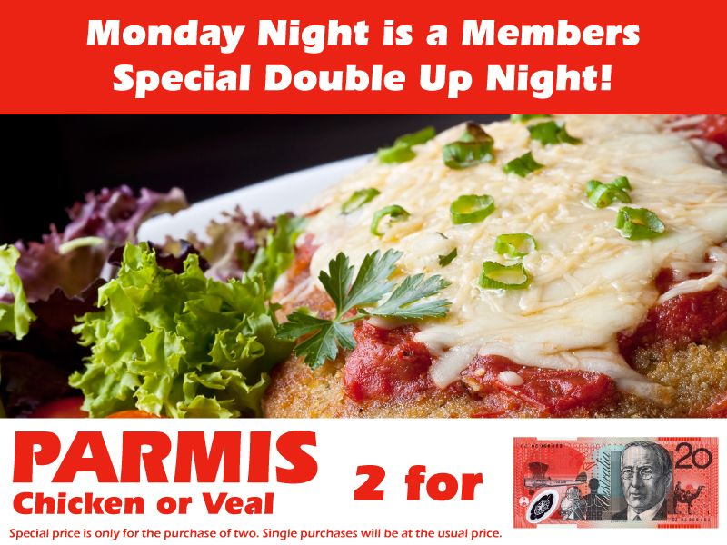 Double #dinner deals for our members, great food at great prices,  #Nerang #Goldcoast #QLD #RSL