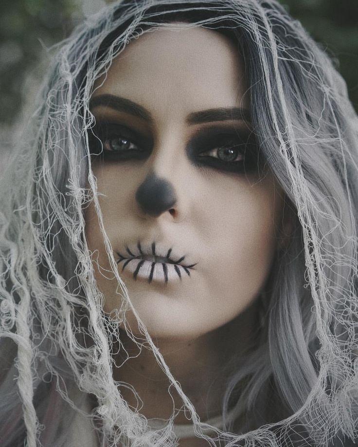Maquillaje halloween por Holly Splawn en Costumes