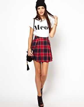Image 1 of Glamorous Tartan Skirt  015ce0f2c996