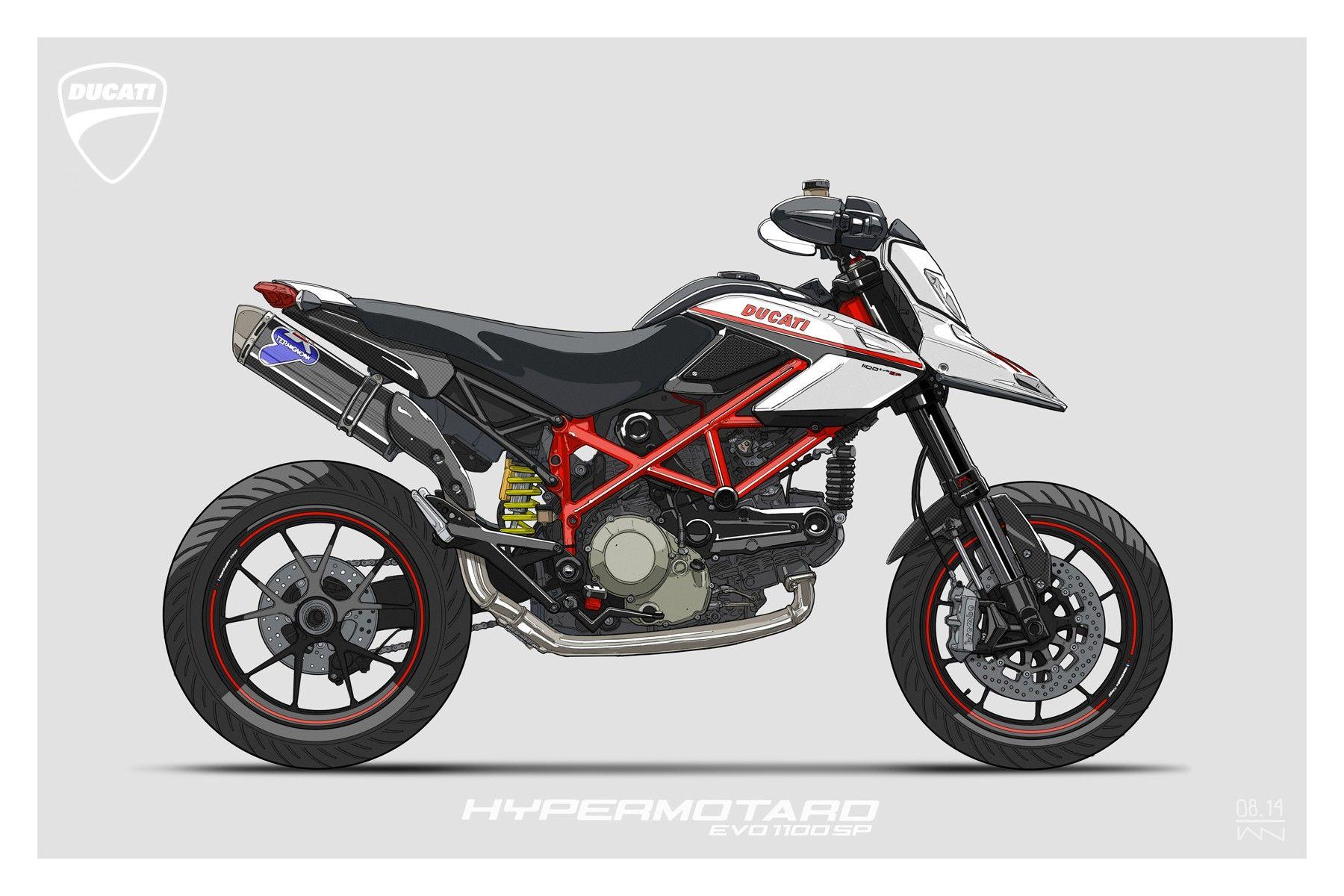 Reddit Commissioned Illustration 4 Motorbike Ideas Ducati
