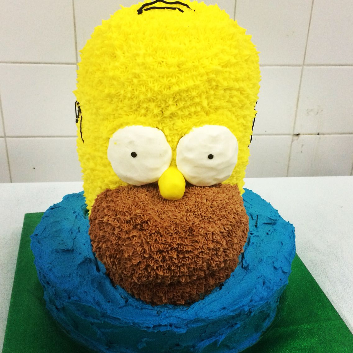 Homero simpson- cake