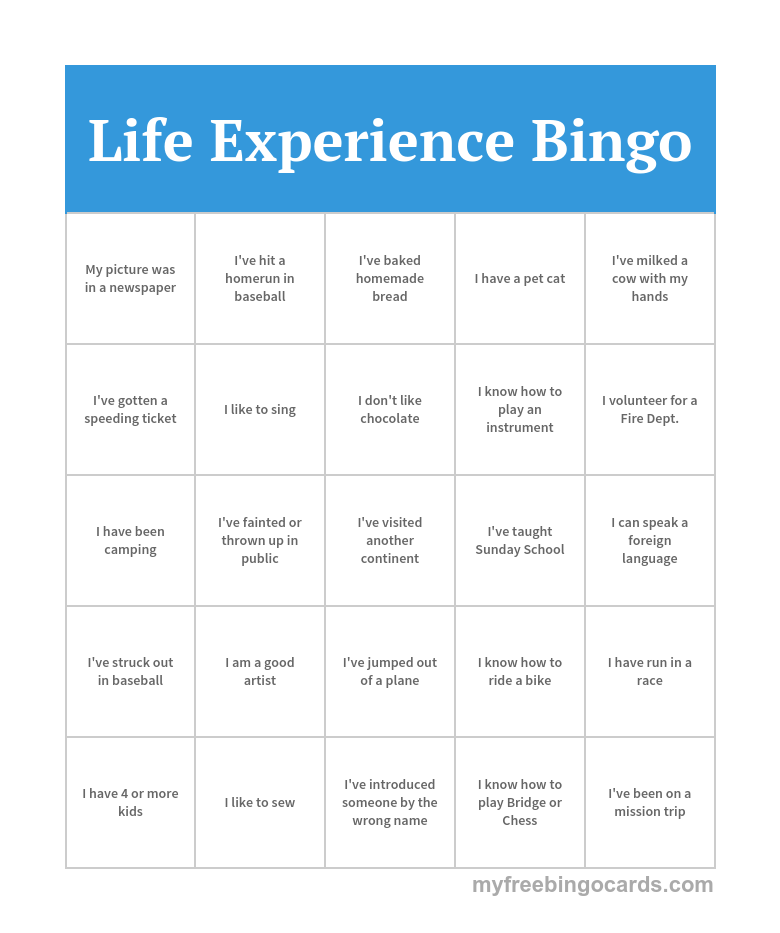 Myfreebingocards Com Bingo Card Generator Bingo Cards Bingo