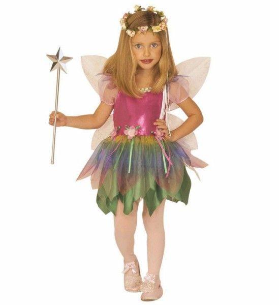 Disfraz De Hada Multicolor Para Nina Princesas Costumes Fairy Y