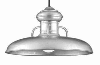 galvanized porch pendant light. I'm officially obsessed w/ galvanized light fixtures!!