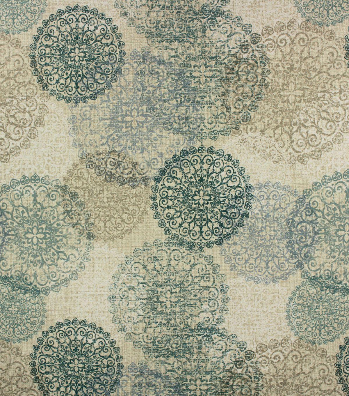 Optimum Performance Room Darkening Fabric 54 Peacock Medallion