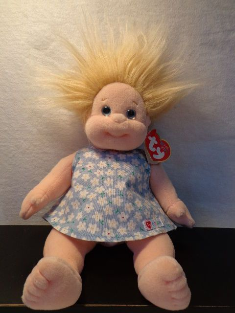 2858a098ab1 YIKES- look what we found at Frocks and Finds! Collectible ANGEL TY Beanie  Kids Doll retired 10.5