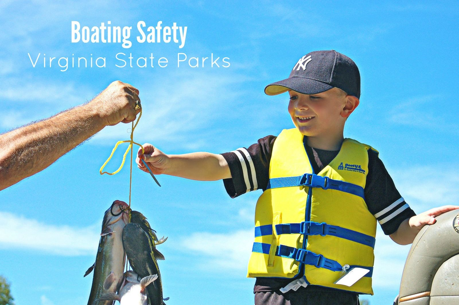 Life jackets save lives. If you are out on the water make