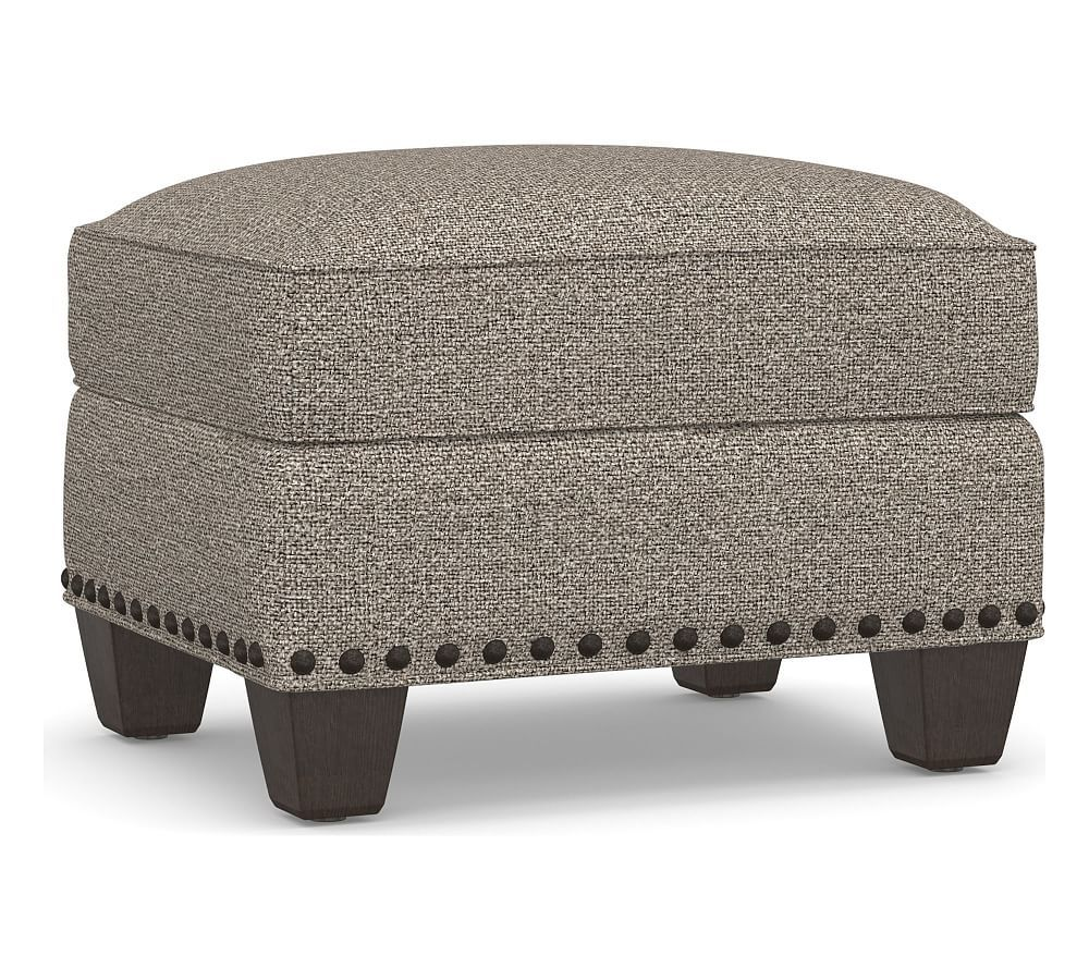 Terrific Irving Upholstered Storage Ottoman With Nailheads Products Theyellowbook Wood Chair Design Ideas Theyellowbookinfo