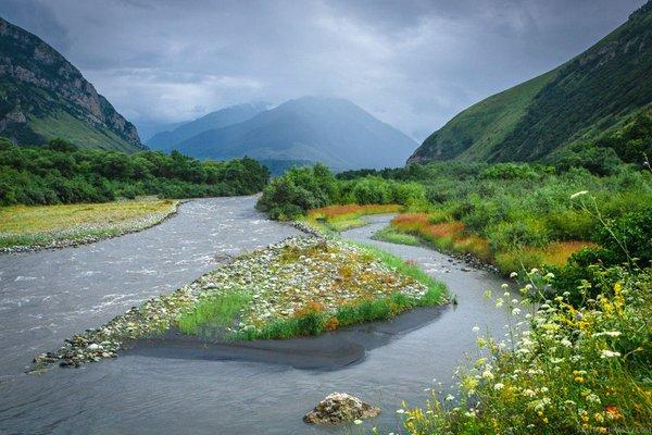 Ингушетия.   Природа, Россия и Яндекс