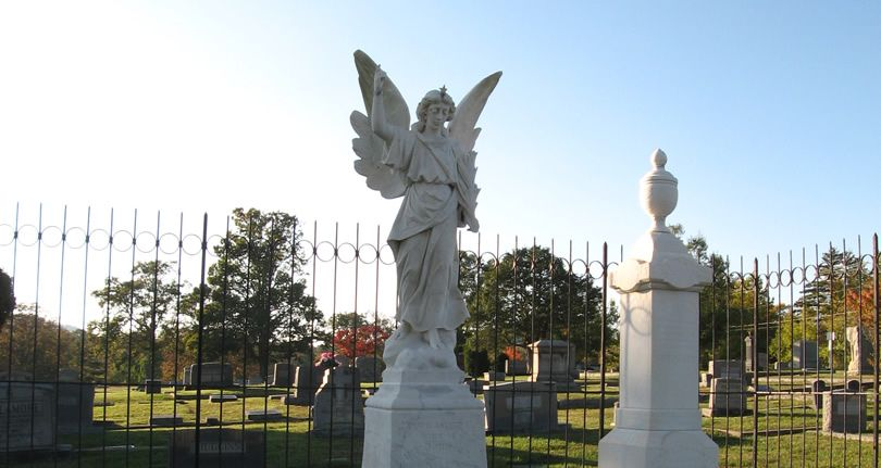 Oakdale Cemetery is on the way out of Hendersonville