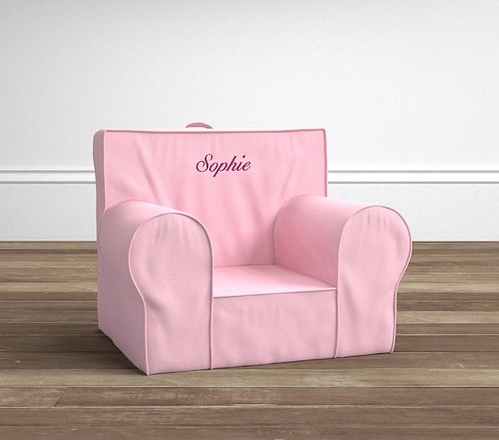 Light Pink Anywhere Chair 174 Pottery Barn Kids Chairs Kids