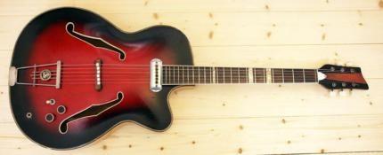 Schöne, alte original Hopf Jazzgitarre, vintage, mit Tonabnehmer in Hannover - Linden-Limmer | Musikinstrumente und Zubehör gebraucht kaufen | eBay Kleinanzeigen