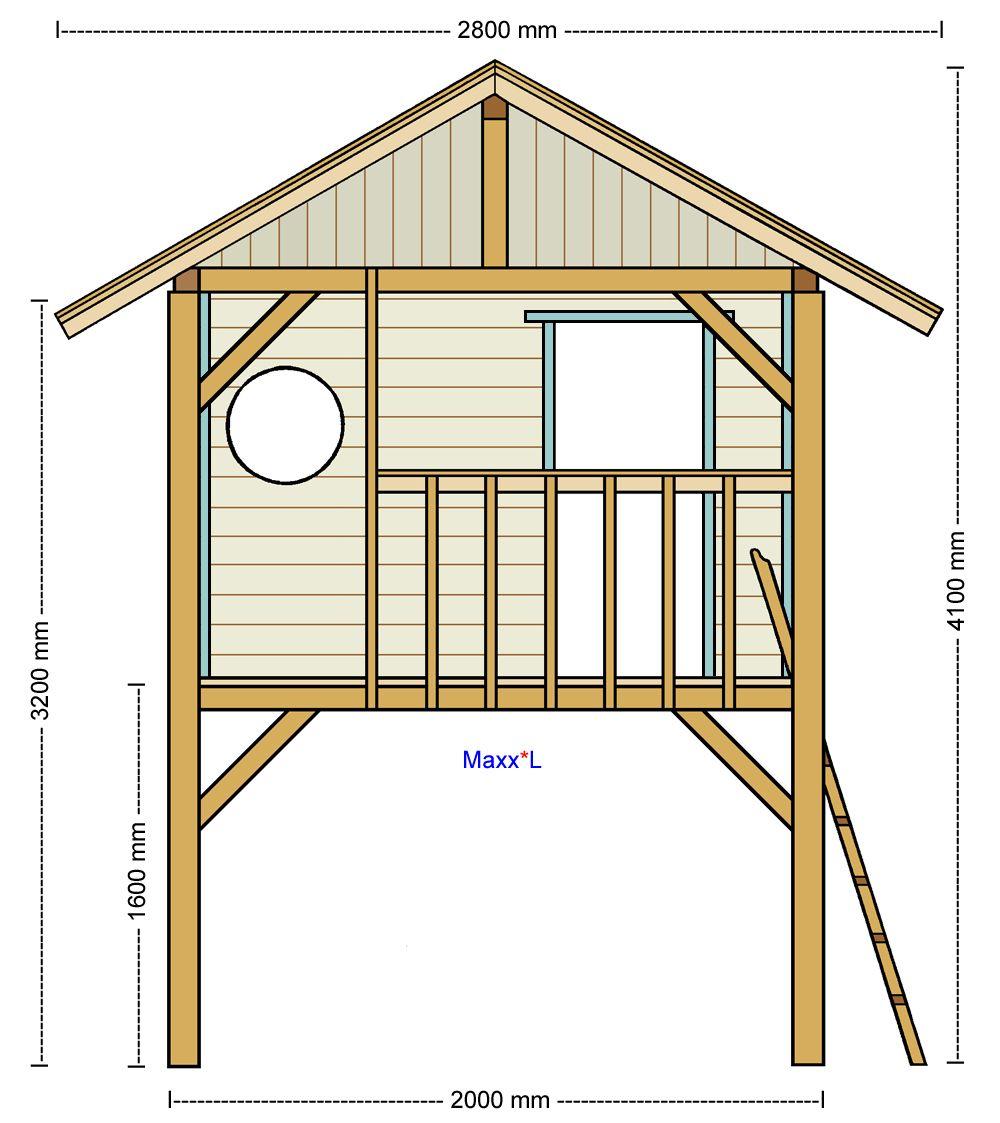 Stelzenhaus Maxx direkt vom Hersteller 2020 나무 위의 집, 집