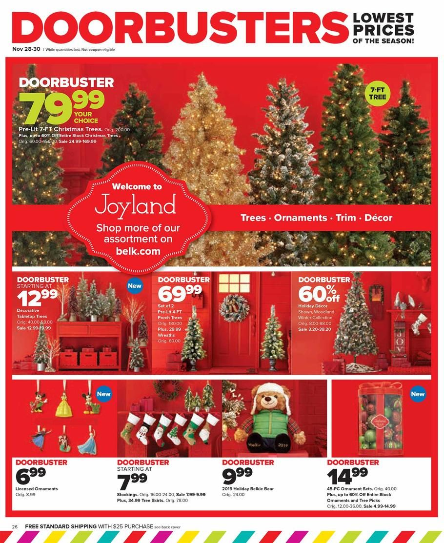 Belk Black Friday Ad Scan, Deals and Sales 2019 Page 26