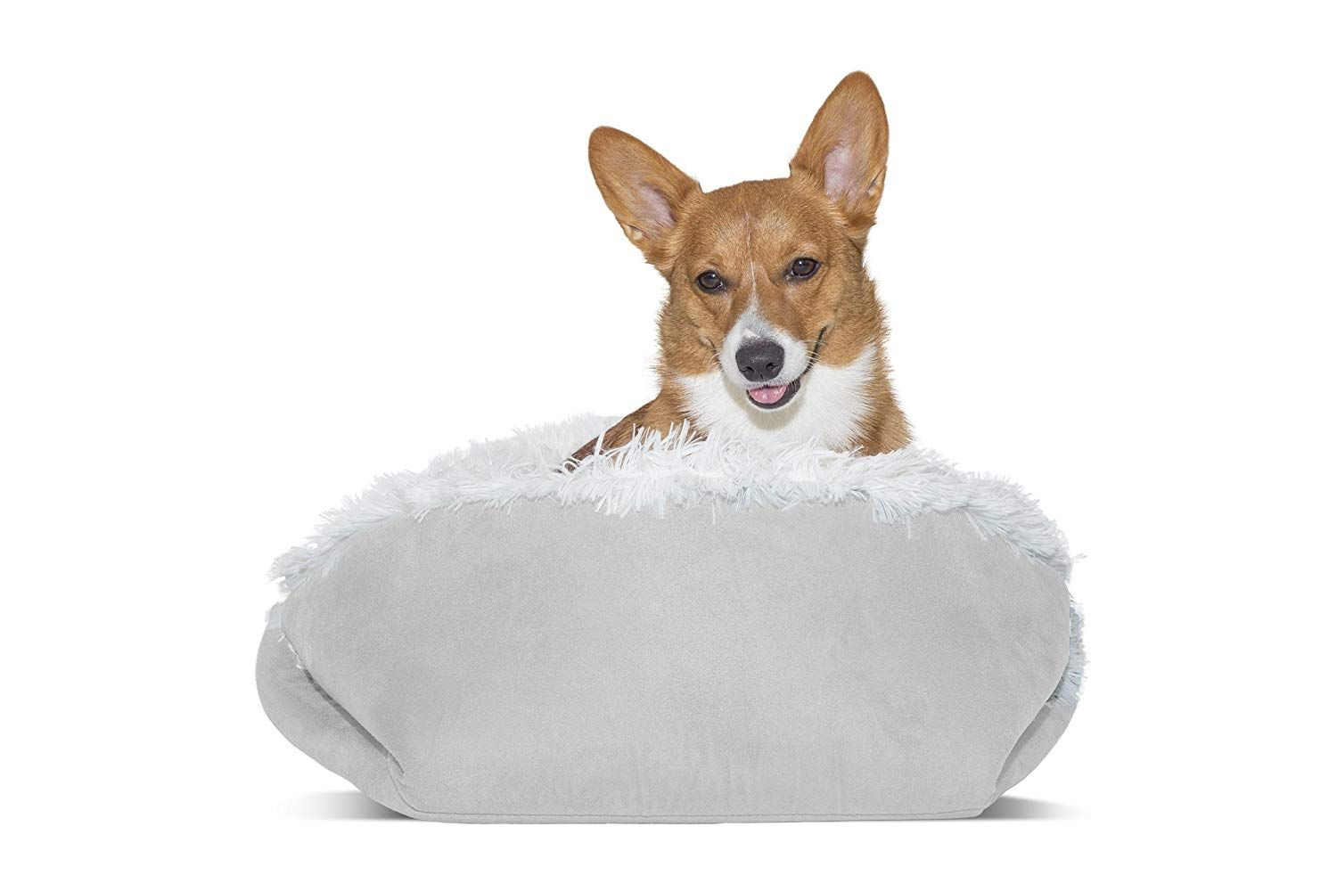 Furhaven Pet Dog Bed Convertible Self Warming Cuddle Pet Bed For Dogs And Cats Sizes Thanks A Lot For Seeing Our I Dog Pet Beds Cool Dog Beds Dog Stroller
