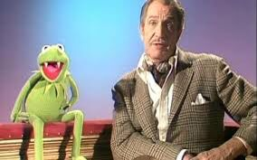 Kermit and Vincent Price