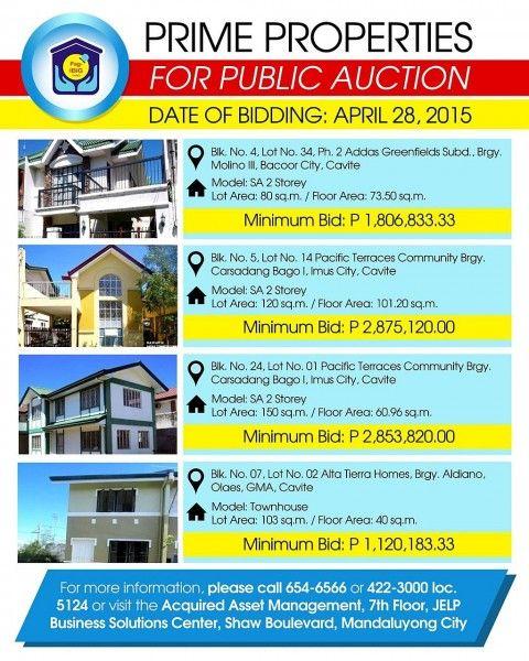Bpi foreclosed properties 2019