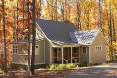 Heavenly Cottage House Plans With Tin Roof Exterior Kitchen And ...
