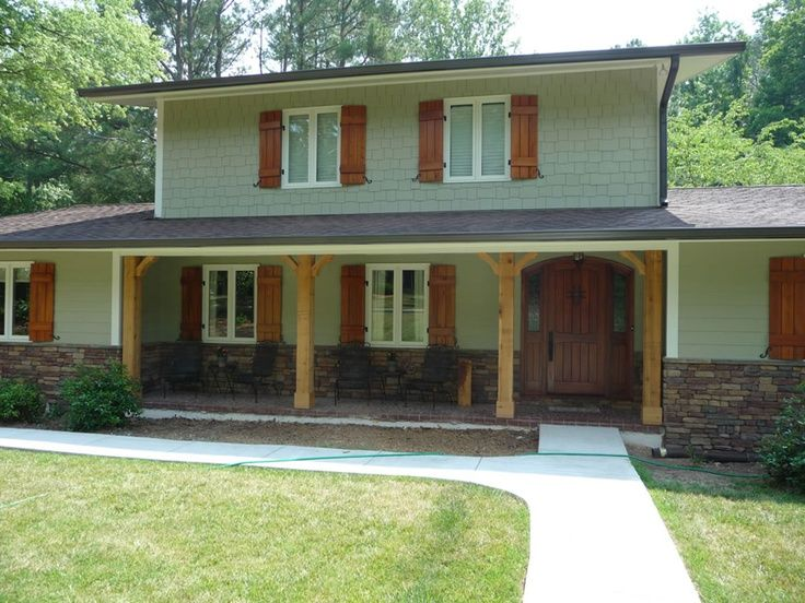 Washed Cedar Porch Railings Google Search Ideas For The House Pinterest Dark Gray Houses