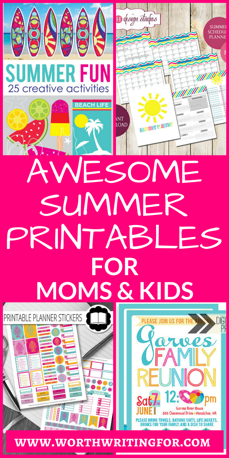 What moms are saying: planning a summer vacation 67