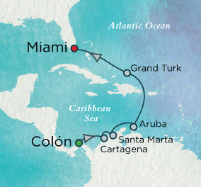 Gems of the Caribbean: Crystal Getaways Map