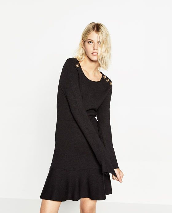 Image 2 of BUTTONED DRESS from Zara