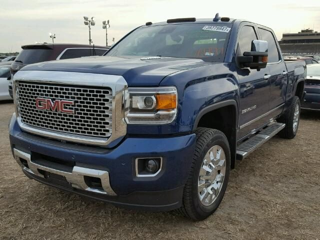 Salvage 2016 Gmc Sierra Denali Hd Gmc Trucks Chevy Trucks Pickup Trucks