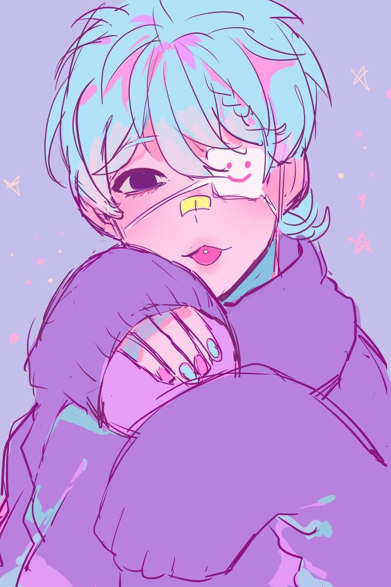 Sᴛʏʟᴇ ɪɴᴘɪʀᴀᴛɪᴏɴ Yes It S So Beautiful I M In Love With This Drawing Haaaayaaa Kawaii Art Pastel Goth Art Anime