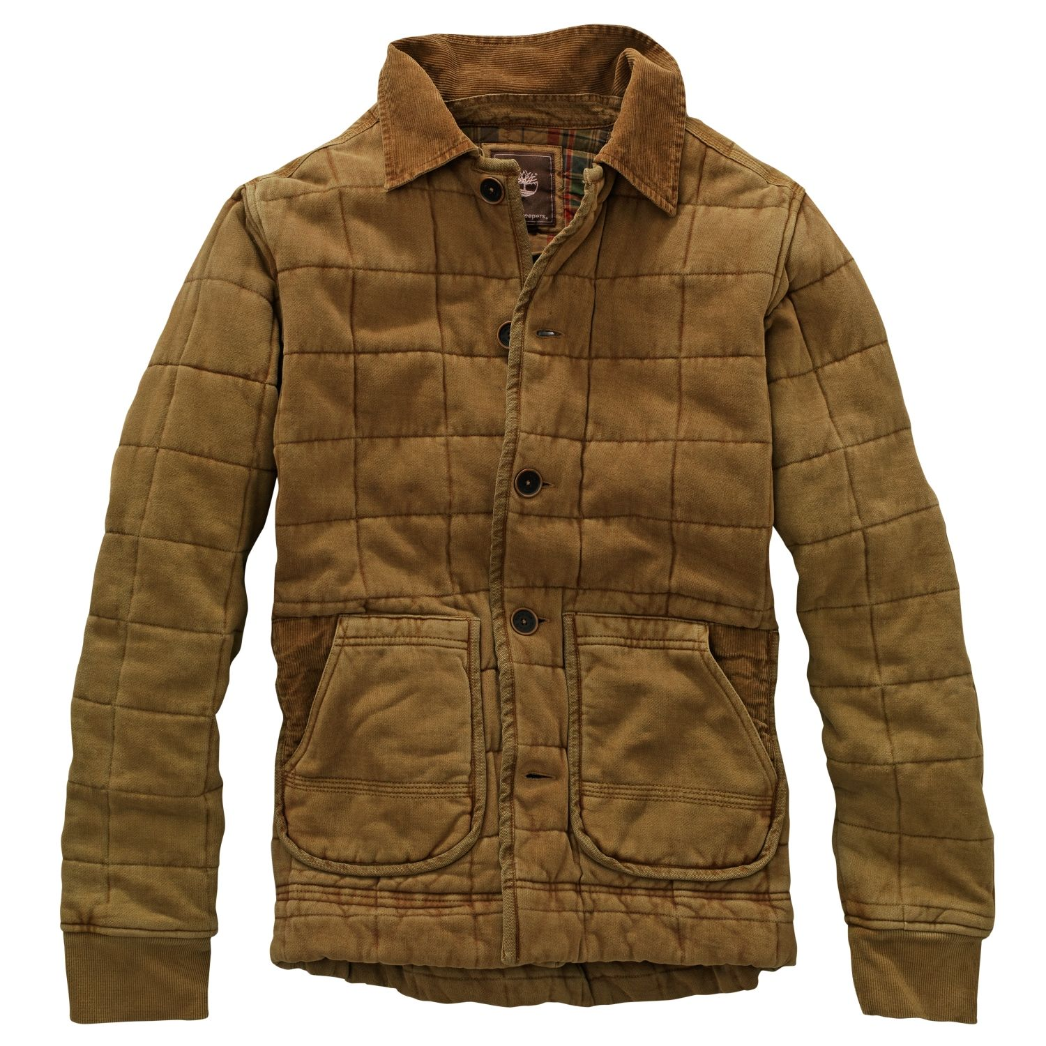 Timberland - Men's Earthkeepers® Quilted Sweatshirt Jacket ... : quilted sweatshirt jacket - Adamdwight.com