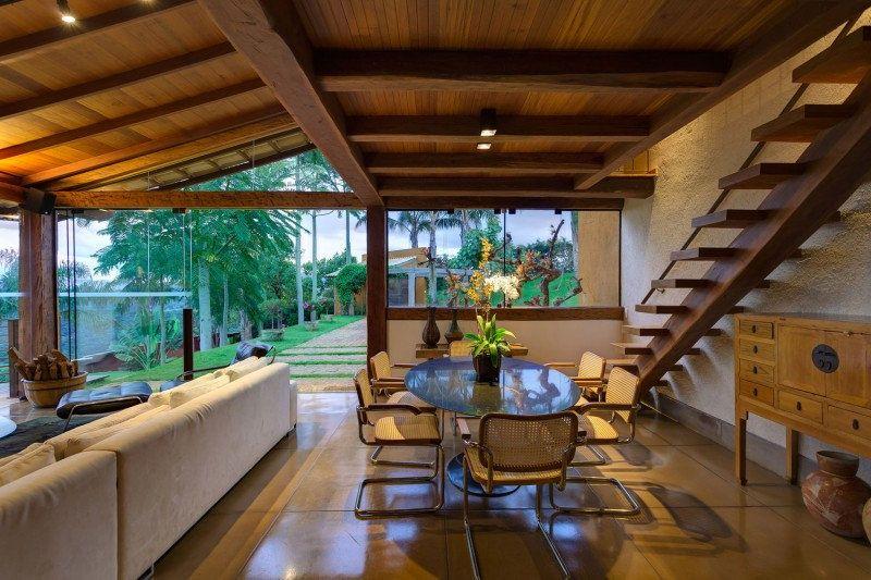 Casa de campo moderna de tirar o f lego casas de campo for Parrilla casa de campo