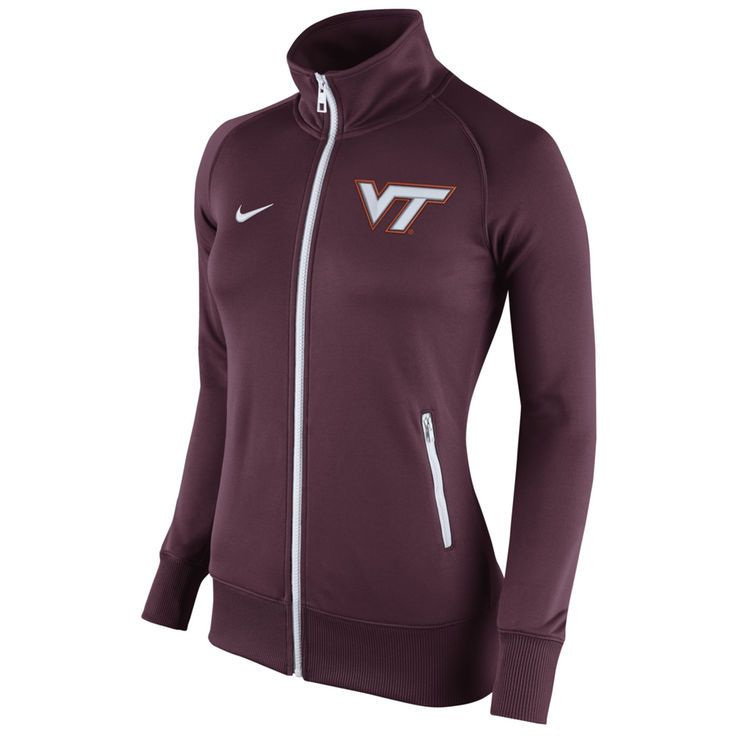 Virginia Tech Hokies Nike Women's Stadium Classic Full Zip Track Jacket -  Maroon - $56.99