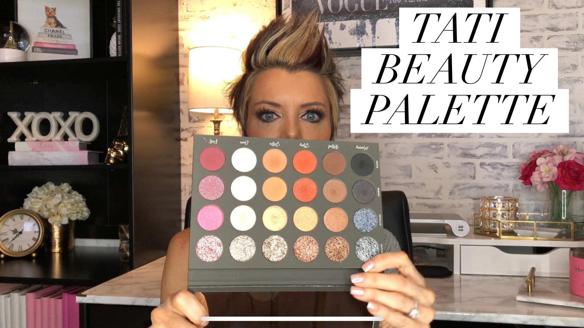 TATI BEAUTY EYESHADOW PALETTE REVIEW & SWATCHES YouTube