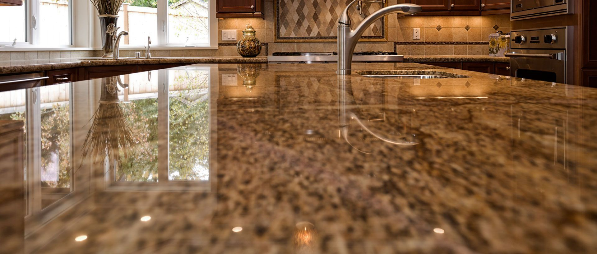 Q. You rate laminate countertops higher than granite for bathroom use but  the reverse for
