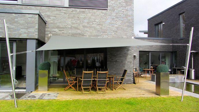 Sonnensegel Sonnen- und Regenschutz | Gartengestaltung | Pinterest ...