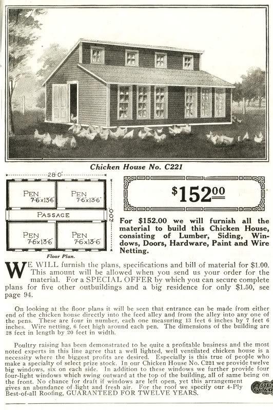 1930s Sears chicken coop | Montana Brides | Pinterest | Farm house ...