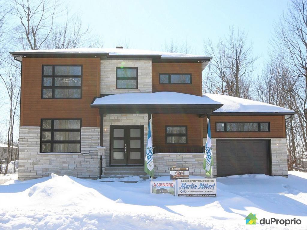 Maison Neuve A Vendre Drummondville 2405 Avenue Camille Dreyfus Immobilier Québec Duproprio 502870 Outdoor Decor Home Home Decor