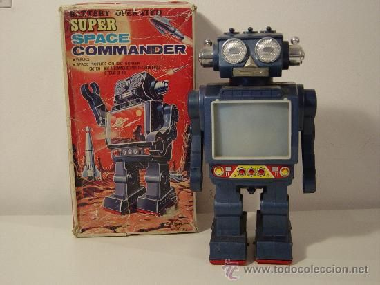 robotsrobot japones horikawa super space commander juguetes juguetes antiguos de hojalata extranjeros
