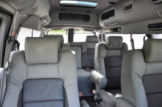 2013 Chevy Express 9 Passenger Van Leather Seats And All The Bells Whistles