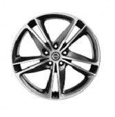 "Nissan Qashqai (J11E) 19"" Alloy Wheel, Dark Grey - Diamond Cut inc Centre Cap - Ibiscus"