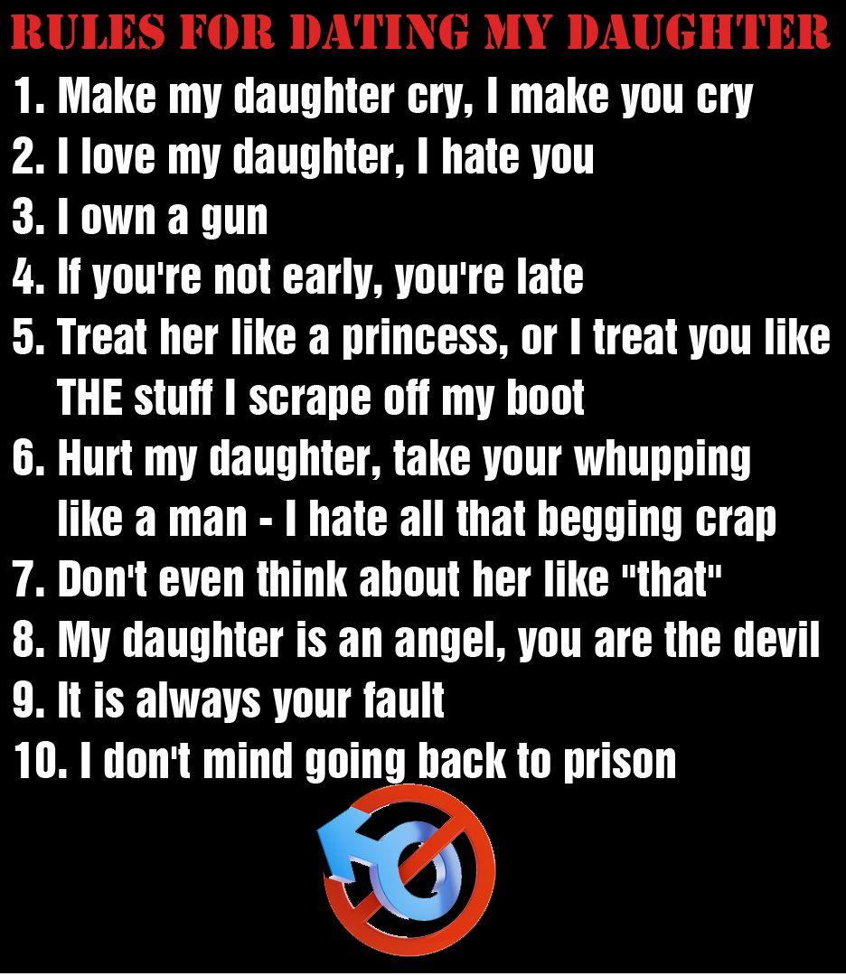 daughter dating