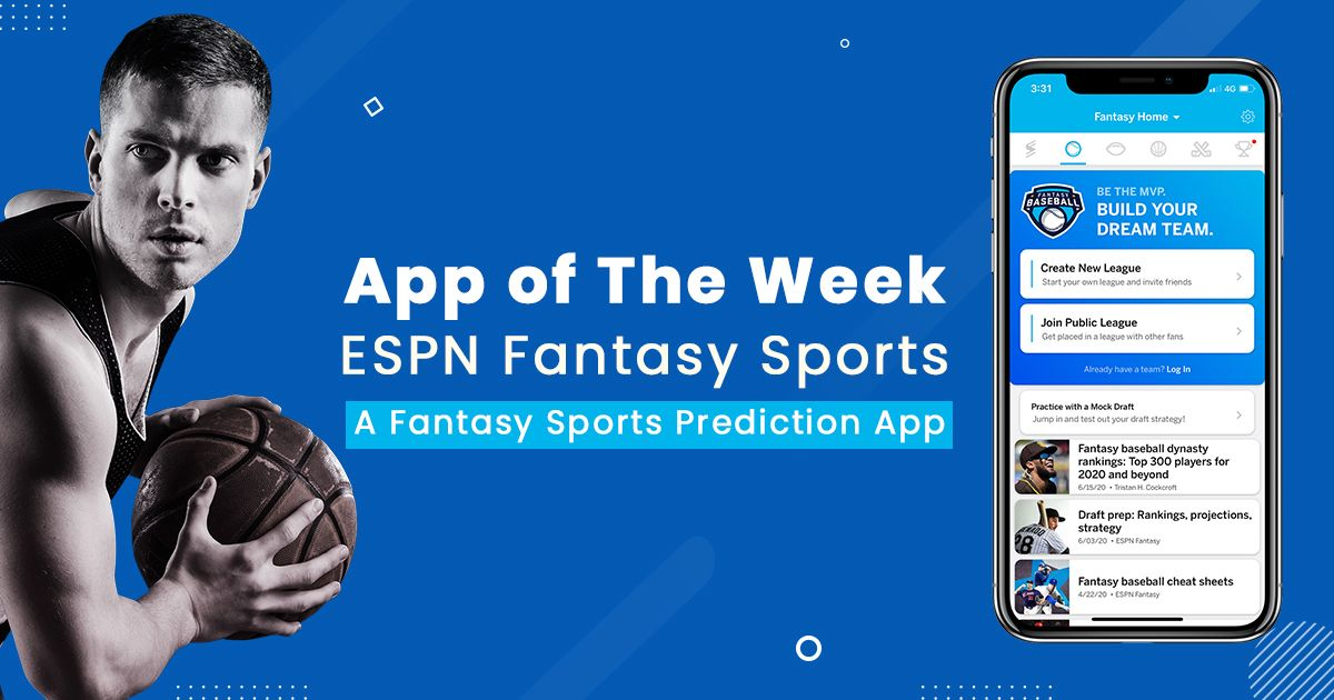 Espn Fantasy Sports App For The Top Fans In 2020 Espn Fantasy Fantasy Sports Sports App