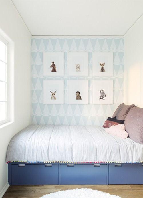 Spiksplinternieuw Bed vult ruimte tussen de muren, met handige lades eronder (met CX-77
