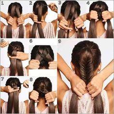 Peinados Faciles Trenzas Paso A Paso1 Cabellos Bk Pinterest Moda