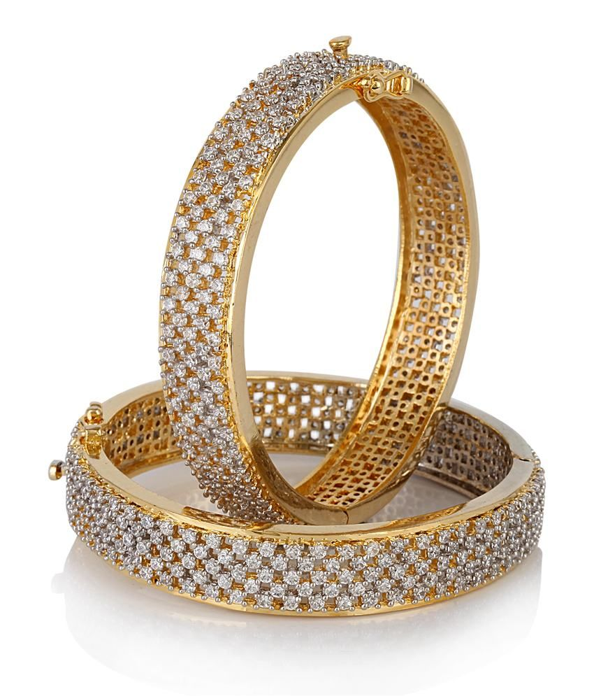 Diamond bangles latest jewelry designs jewellery designs -  Diamond Bangles Https Play Google Com Store Apps Details Id Com Womensdeals Womensdeals Jewels Galaxy Welcomes You To The World Of Designer Jewellery