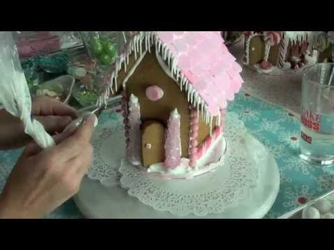 Gingerbread house template ideas for key