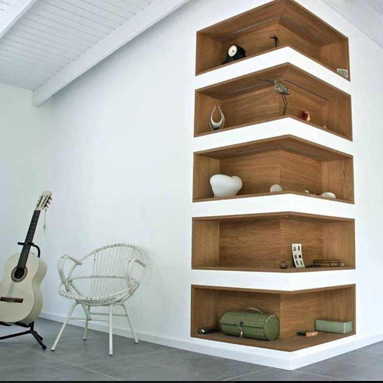 Brilliant Ideas Corner Shelf For Living Room Bold Idea 23 Wall Designs