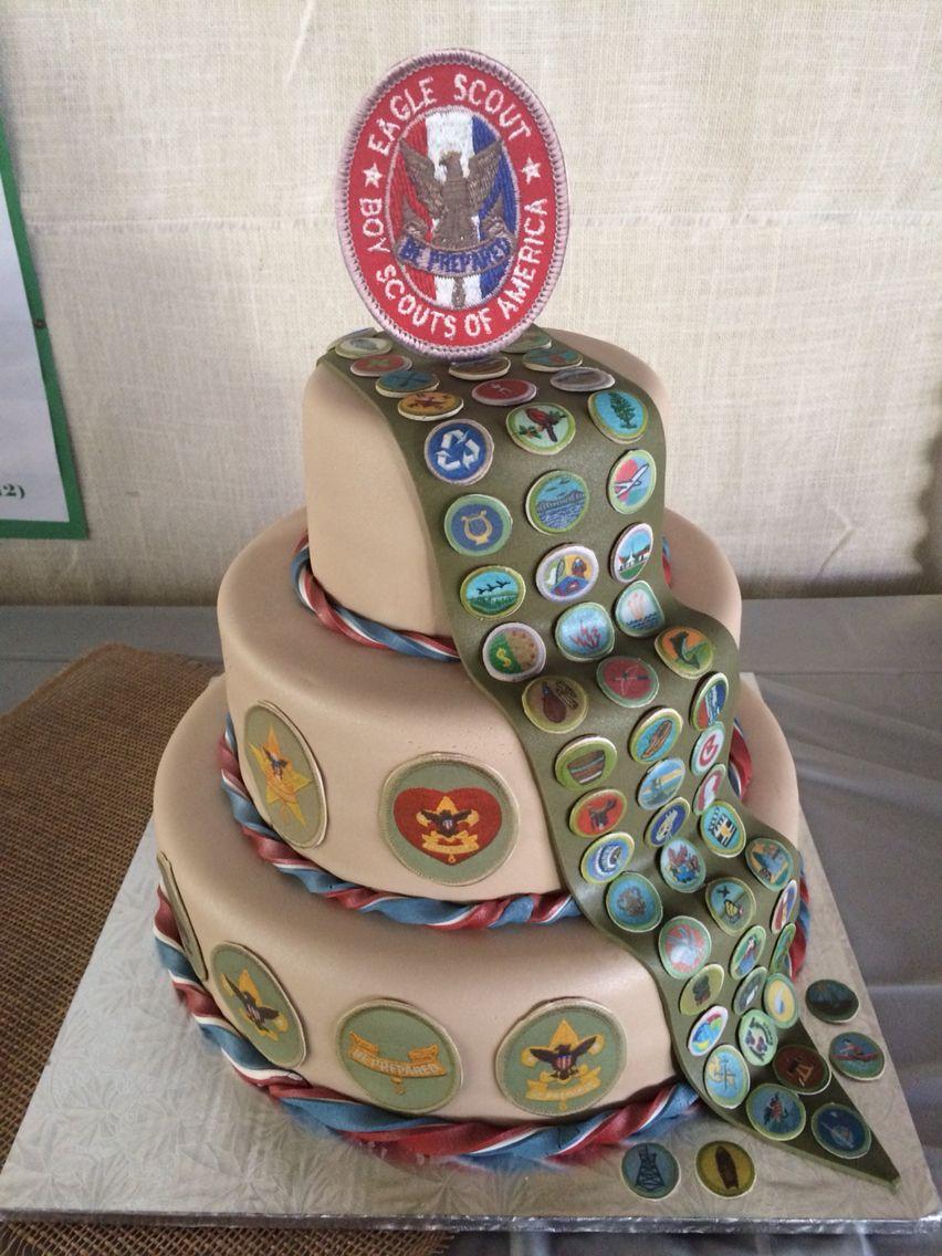 Eagle Scout Cake Eagle Scout Cake Eagle Scout Ceremony Boy