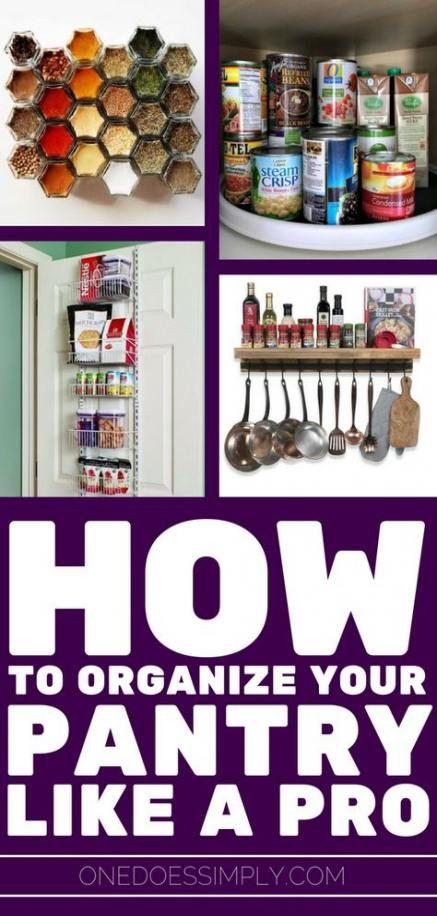 New kitchen hacks organization pantries small spaces 37 ...